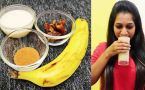 Banana & Date Smoothie Recipe for Good Blood Health | Ironrich Smoothie