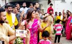 Shilpa Shetty's DANCE with Raj Kundra & Son Viaan at Ganpati Celebration; Watch Video