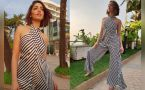 Yami Gautam's looks stunning in her backless halter neck jumpsuit