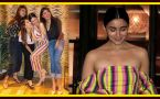 Alia Bhatt looks sassy in off shoulder jumpsuit at her Date Night; Watch Video
