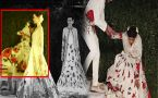 Model falls down on ramp at Rohit Bal Fashion Show; Watch Video