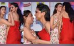 Alia Bhatt shares Lovely bond with Deepika Padudone at Zee Cine Awards; Watch video