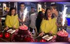 Karan Johar's mother Hiroo Johar gives emotional speech on her birthday bash