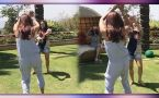 Shilpa Shetty CRAZY Nagini Dance during Holi Party; Watch Video