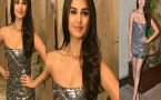 Tara Sutaria spotted in short shimmery dress at Maninsh Malhotra Party