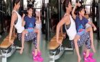 Shilpa Shetty's workout session with son Viaan Raj Kundra going viral; Watch Video