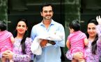Esha Deol & Bharat Takhtani take baby Miraya home; Watch video