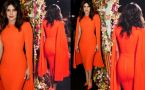 Priyanka Chopra's stylish ORANGE look will win your heart; Watch video