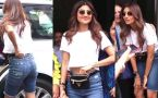 Shilpa Shetty adjusts her pant in front of media, VIRAL VIDEO