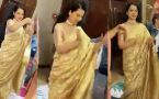 Kangana Ranaut's pahadi Folk dance in brother's engagement ceremony