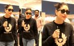 Kareena Kapoor Khan Spotted at Mumbai Airport