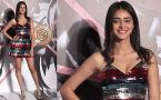 Ananya Panday's looks stunning in short dress at Falguni Peacock's store launch