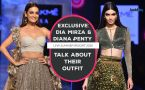 Exclusive: Diana Penty and Dia Mirza talk about their outfit at Lakme Fashion Week S/R 2020