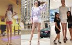 World's Second Longest Legs Female
