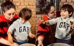 Taimur Ali Khan makes Fun 'Pot' with his Mother Kareena Kapoor, Viral Video