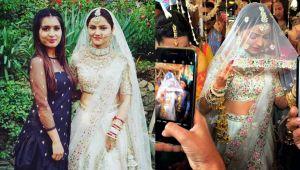 Rubina Dilaik Abhinav Shukla Wedding: रुबीना ने शादी के लिए चुना ये खूबसूरत  वाइट लहंगा - BoldSky