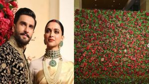 Deepika Padukone & Ranveer Singh all set for Third Reception with Red Decoration
