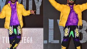 Ranveer Singh redefines Quirky Dressing style at Gully Boy Trailer Launch; Watch Video