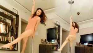 Aashka Goradia's pole dance video is enough to AMAZE you