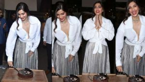 Sonam Kapoor celebrates her birthday with family & friends; Watch Video