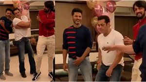 Salman Khan takes dance lessons from Prabhu Deva; Watch Video