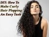 DIY: How To Make Curly Hair Plopping An Easy Task