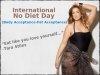 International No Diet day- Diets Don't Matter!