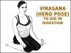 Virasana (Hero Pose) To Aid In Digestion