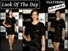 Look of The Day: Kalki Koechlin Launches Kazo A/W Collection In An LBD