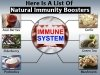 Here Is A List Of Natural Immunity Boosters