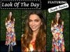 Deepika Padukone Charms The Audiences In Florals @ Pre Oscars Party