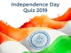 Independence Day 2019 Quiz