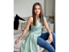 Ajeeb Daastaans Promotions: Nushrratt Bharuccha Looks Stunning In Her Denim Drape Outfit