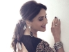 Madhuri Dixit's Backless Kurti And Black Sharara Makes For A Stylish Sangeet Ceremony Outfit