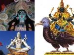 Angry Hindu Gods