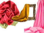 Use Silk Fabric For Home Decor