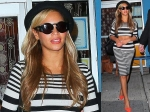 Beyonce Flaunts Flat Tummy Topshop Outfit