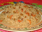 Special Kabuli Pulao For Vegetarians