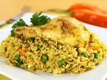 Chicken N Peas Rice Recipe
