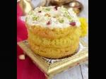Malai Ghevar Rakhi Recipe