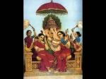 Lord Ganesha Consorts
