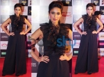 Ileana Dcruz Chooses Bold Black Mirchi Music Awards