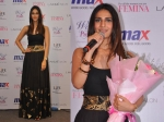 Vaani Kapoor In Hot Black And Gold At Max Summer Collection