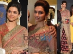 Deepika Padukone In Saybasachi: Kochadaiyaan Audio Launch