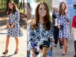 Kate Middleton In DvF Dress: Australia