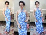 Kangana Ranaut Dvf Dress Revolver Rani Press Meet