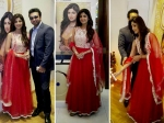 Shilpa Shetty Glitters In Pankaj And Nidhi Suit