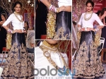 Lisa Haydon Indo French Bride At 2014 Icw