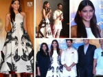 Sonam Kapoor Mis Matched In Printed Dress