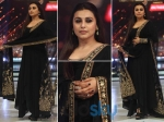 Rani Mukerji Hot Look In Sabyasachi On Jhalak Dikhhla Jaa
